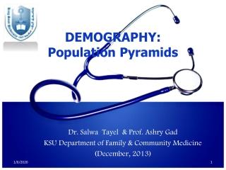 Dr.  Salwa Tayel   & Prof.  Ashry  Gad KSU Department of Family & Community Medicine