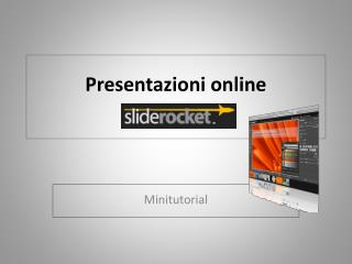 tutorial slideRocket