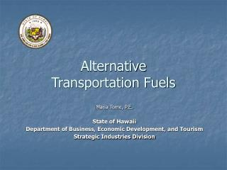 Alternative  Transportation Fuels