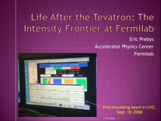 Life After the  Tevatron : The Intensity Frontier at Fermilab
