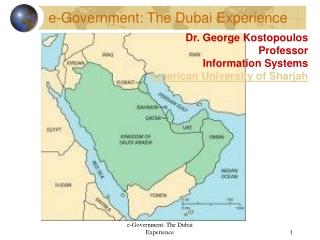 e-Government: The Dubai Experience