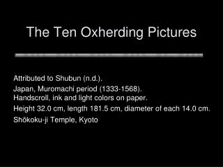 The Ten Oxherding Pictures