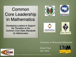 University of Wisconsin-Milwaukee School Year 2011-2012