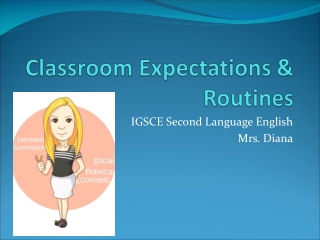 Classroom Expectations & Routines