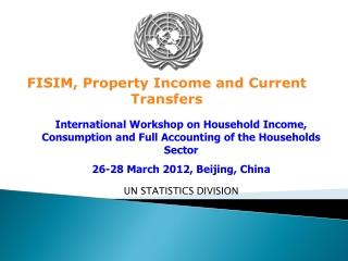 UN STATISTICS DIVISION