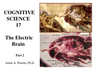 COGNITIVE   SCIENCE          17  The Electric       Brain Part 2   Jaime A. Pineda, Ph.D.