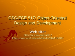 CSC/ECE 517: Object-Oriented Design and Development