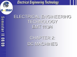 ELECTRICAL ENGINEERING TECHNOLOGY EMT 113/4