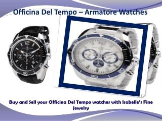 Officina Del Tempo Watches