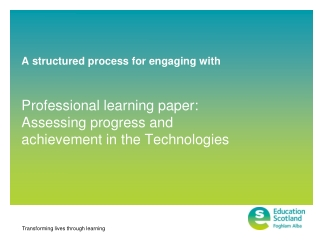 A structured process for engaging with