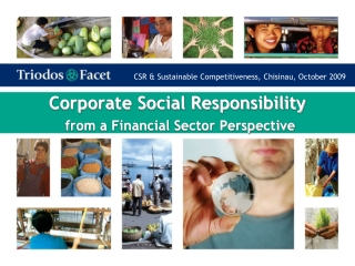 Corporate Social Responsibility from a Financial Sector Perspective