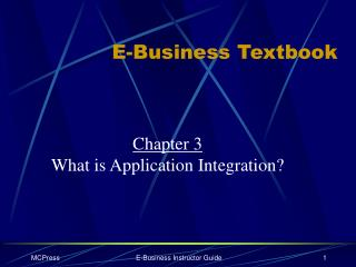 E-Business Textbook