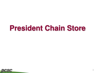 President Chain Store