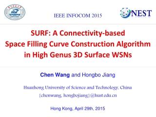 Chen Wang  and Hongbo Jiang Huazhong University of Science and Technology, China