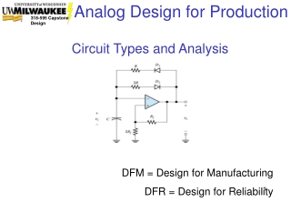Circuit Types and Analysis