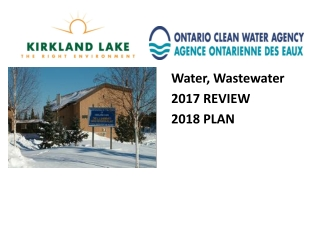 Water, Wastewater 2017 REVIEW 2018 PLAN