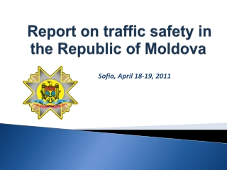 Report  on traffic safety in  the Republic of Moldova