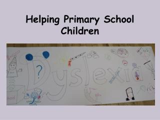 Helping Primary School Children