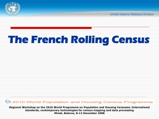 The French Rolling Census