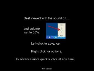 Left-click to advance.