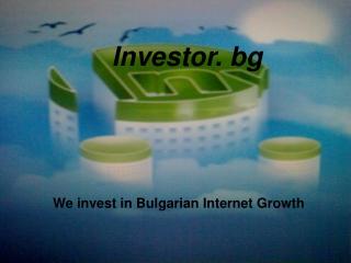 Investor. bg