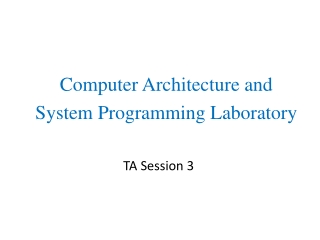 TA Session 3