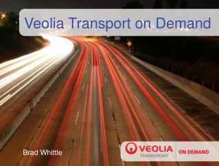 Veolia Transport on Demand