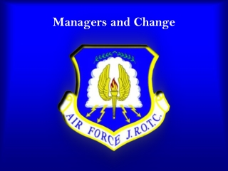 Managers and Change