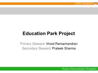 Education Park Project