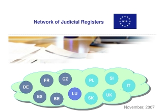 Network of Judicial Registers