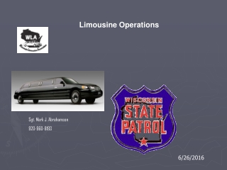Limousine Operations