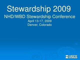 Stewardship 2009