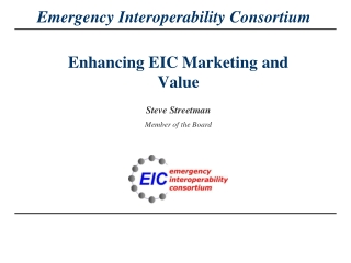 Enhancing EIC Marketing and Value