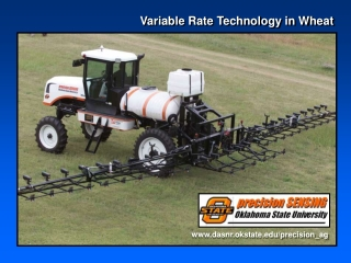 Variable Rate Technology in Wheat
