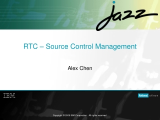 RTC – Source Control Management