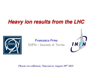 Heavy ion results from the LHC