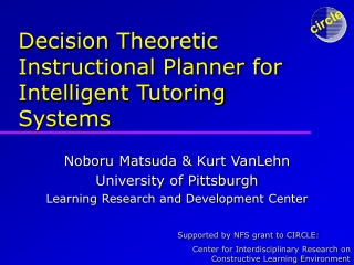 Decision Theoretic Instructional Planner for Intelligent Tutoring Systems