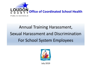Annual Training Harassment,  Sexual Harassment and Discrimination For School System Employees