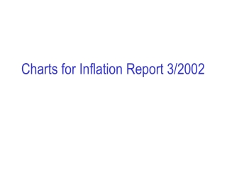 Charts for Inflation Report 3/2002