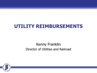 UTILITY REIMBURSEMENTS