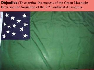 The Green Mountain Boys