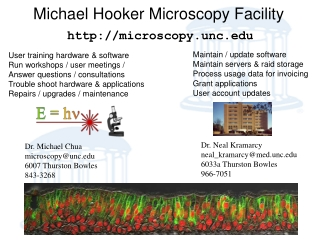 Michael Hooker Microscopy Facility