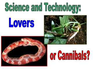Science and Technology: