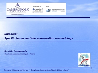 Shipping: Specific issues and the asseveration methodology