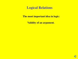 Logical Relations