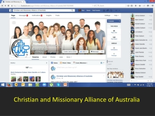 Christian and Missionary Alliance of Australia