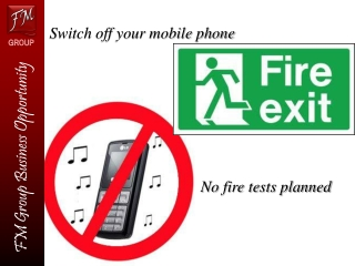 Switch off your mobile phone