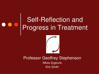 Self-Reflection and Progress in Treatment