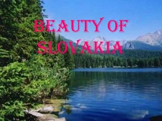 B eauty  of S lovakia