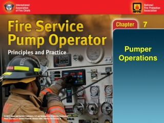 Pumper Operations